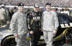 NASCAR has been a strong source of recruitment for the Army with the sponsorship of Ryan Newman.